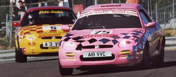 Moto-build Racing's Famous Pink MGF
